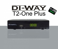 DI-WAY T2 ONE plus HEVC H.265 DVB-T/T2, FullHD PVR
