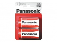 Baterie D (R20) Zn-Cl PANASONIC Red 2BP