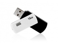 Flash disk GOODRAM USB 2.0 16GB bíločerná