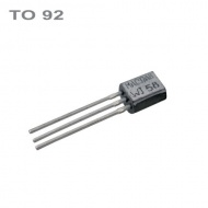 BC557B  PNP 45V,0.1A,0.5W,100MHz  TO92