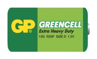 Baterie D (R20) Zn-Cl GP Greencell