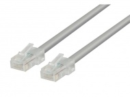 Kabel UTP 1x RJ45 - 1x RJ45 Cat5e 10m GREY VALUELINE VLCT85000E100